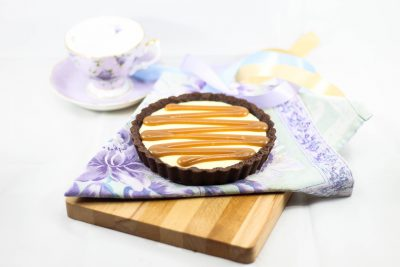 Salted Caramel Cheesecake Pie