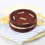 Red Velvet Birthday Cookie Sandwich